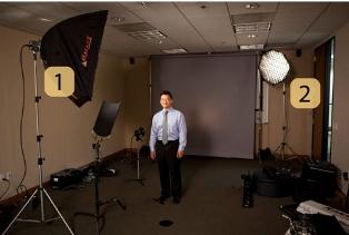 Как снимать простые деловые портреты?
