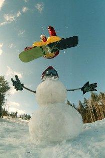 Как фотографировать людей на сноубордах и горных лыжах
