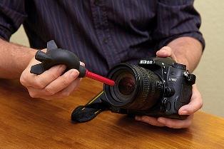Чистка фотоаппарата в домашних условиях